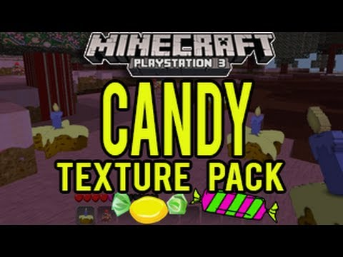 Minecraft Playstation - Candy Texture Pack Release (1.06) - YouTube