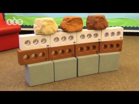 Pretend Bricks Set from TTS Group