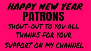 # THANK YOU PATRONS