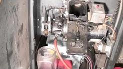 Oil furnace troubleshoot.  Part #6.  Gun and line flush
