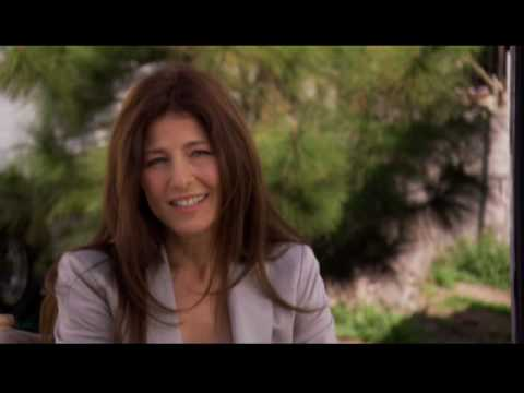 with Cyrus costar Catherine Keener