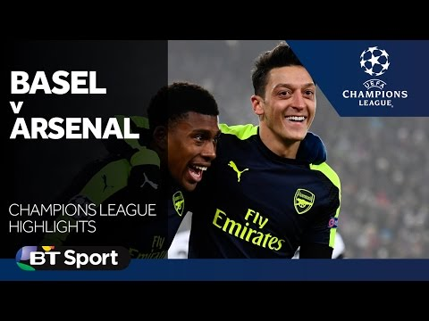 Basel 1-4 Arsenal   Champions League highlights New Flash Game