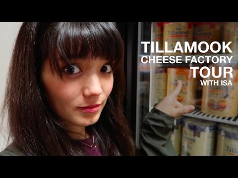 Tillamook Cheese Factory Tour | Oregon, USA