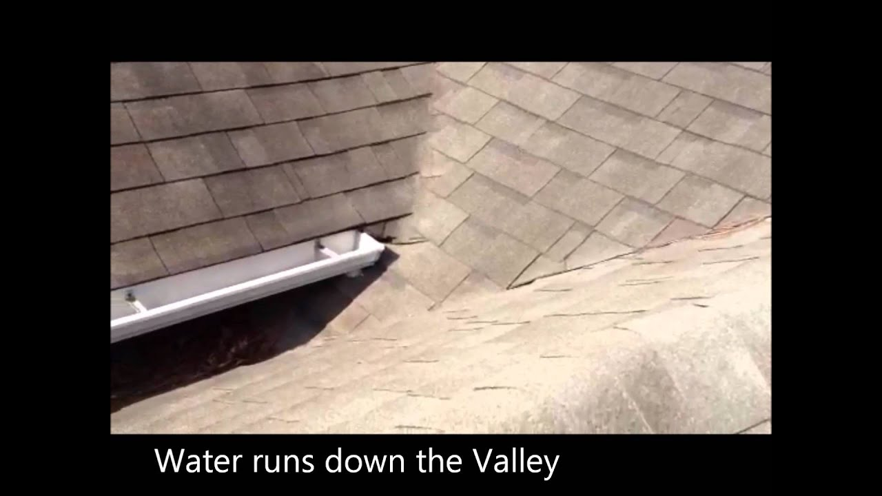 Problems On Roofs With Quot Dead Valleys Quot Youtube
