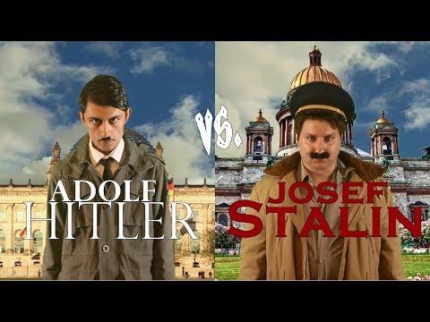 Adolf Hitler Vs Josef Stalin | Destansı Rap Savaşları | DRS