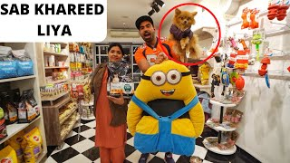 1 Lakh Ki Winter Shopping For Dollar - MINION BED, FOOD