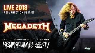 Megadeth - Symphony of Destruction (Live at Resurrection Fest EG 2018)