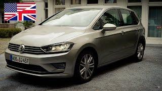 2014 Volkswagen VW Golf SV Sportsvan 2.0 TDI Start Up, Exhaust, Test Drive, and...