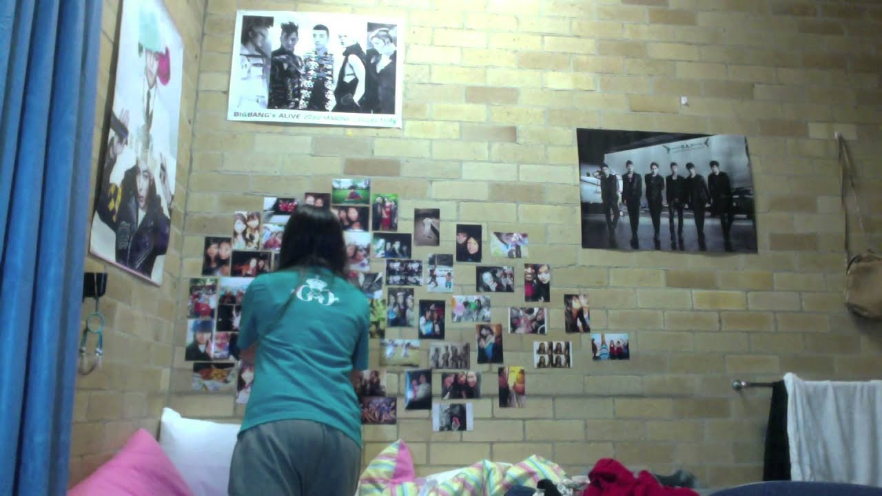 Redecorating my room picture collage kpop posters for Good room decorating ideas