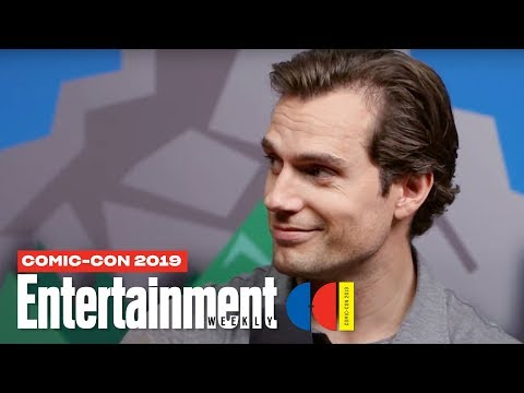 The Witcher Stars Henry Cavill, Freya Allan & Cast LIVE   SDCC 2019   Entertainment Weekly