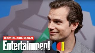 'The Witcher' Stars Henry Cavill, Freya Allan & Cast LIVE | SDCC 2019 | Entertainment Weekly