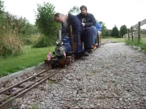 Maxitrak 7 1/4″ Lil'jo, live steam garden railway model