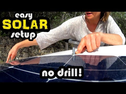 HOW TO INSTALL SOLAR IN YOUR VAN - EASY SOLAR SETUP