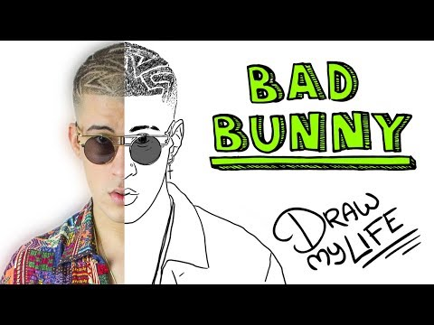 Download Youtube: BAD BUNNY | Draw My Life