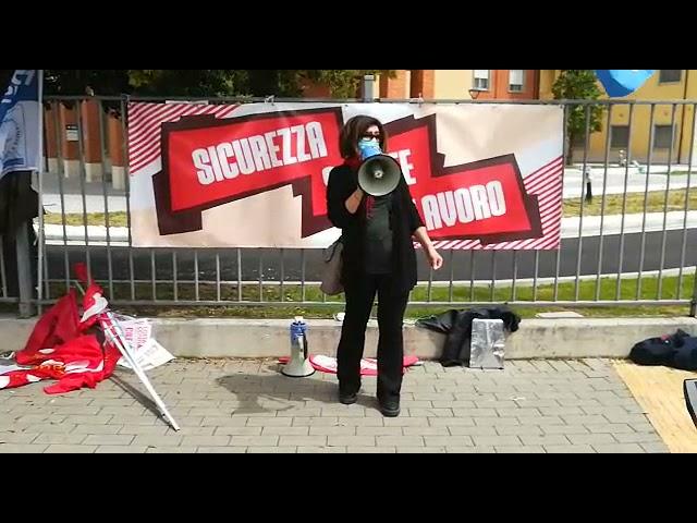 Sicurezza-Salute-Occupazione: 1 maggio 2021 Cisanello