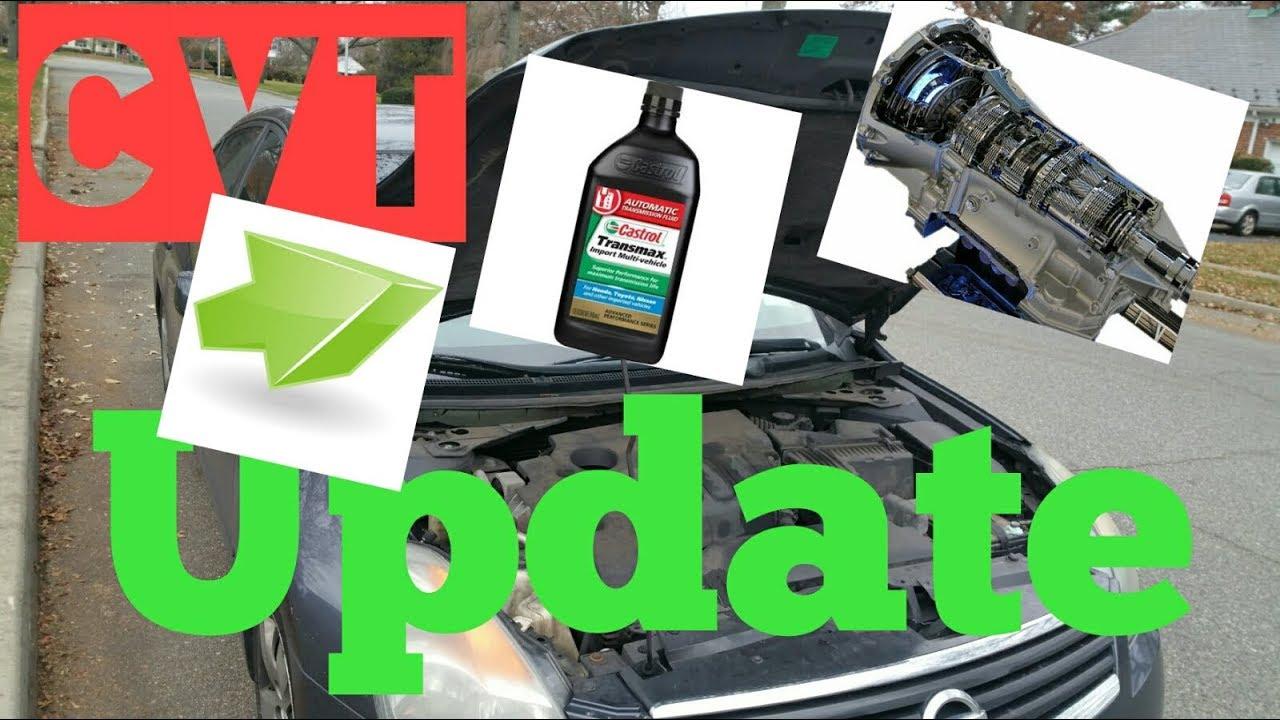 2008 Nissan Altima Cvt Transmission Fluid Change Update 1