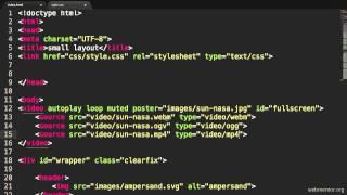 HTML5 Fullscreen Background Video