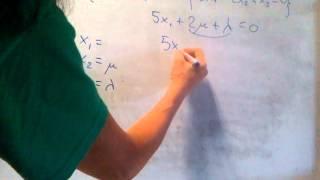 ÁLGEBRA -- Cómo hallar un sistema generador de un determinado subespacio o espacio vectorial