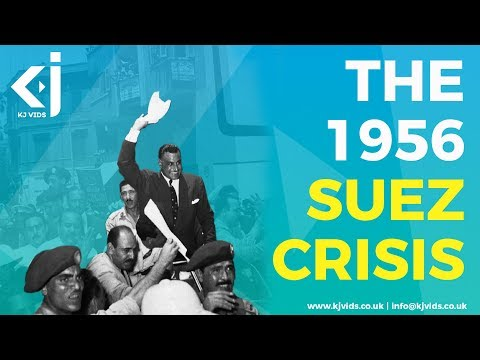 The 1956 Suez Crisis and the end of the British Empire