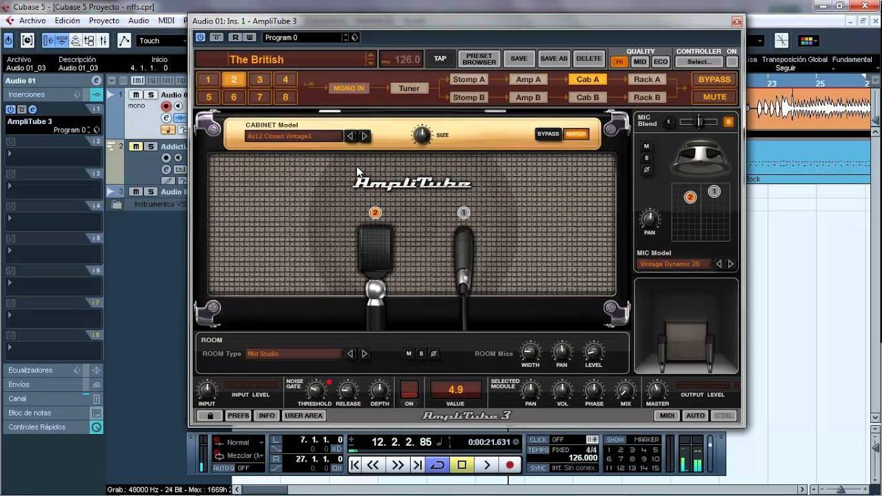 tutorial amplitube 3 espa ol youtube rh youtube com AmpliTube Cab Impulses 3 AmpliTube 3 Guitar Record
