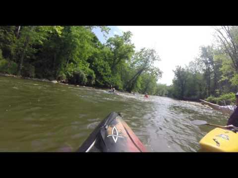 Kayaking Down the Cuyahoga River