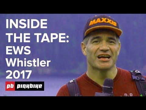 Inside the Tape: RAW Pro EWS Line Choices - Crankworx Whistler 2017
