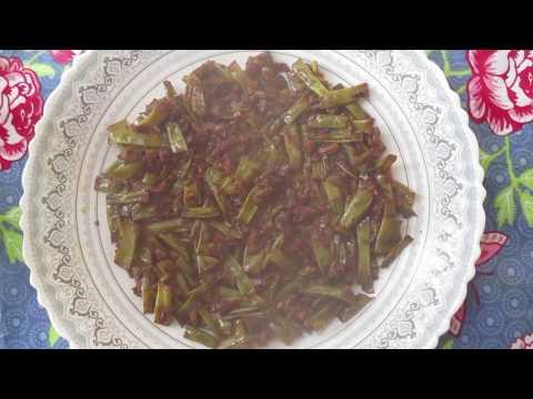 beans-tomato-stir-fry-/-long-yard-bean-tomato-stir-fry---kitchen-recipe-episode-:-393