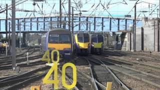 British Trains / British Rail / Eisenbahn Zug - Doncaster Railway Station May 2nd 2014