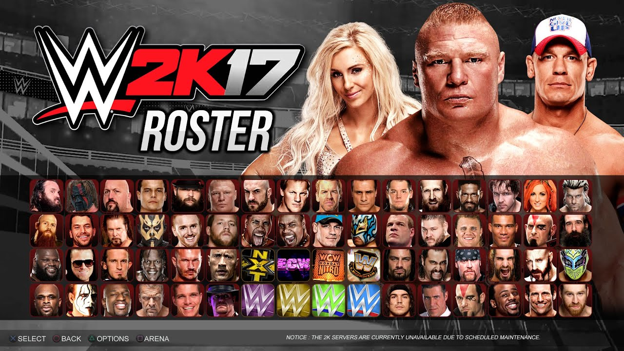WWE 2k17 Serial Product Keys
