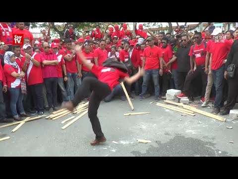 TMJ ribs Red Shirts in video parody