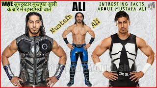 WWE सुपरस्टार मुस्तफा अली के बारे में रहस्यमयी बातें | Intresting Facts About Mustafa Ali Hindi