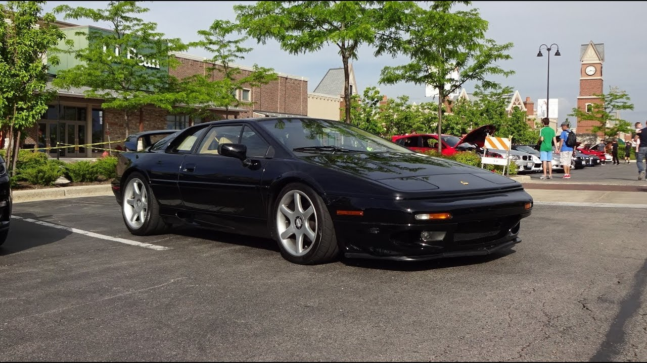 1998 Lotus Esprit V8 in Black Paint & Engine Sound on My Car Story ...