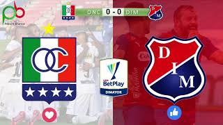 Once Caldas vs Deportivo Independiente Medellín.  Fecha 19 en vivo!!