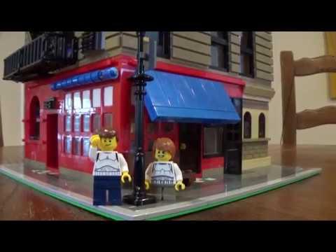 Custom LEGO Friends Apartment MOC Modular - Monica's ...