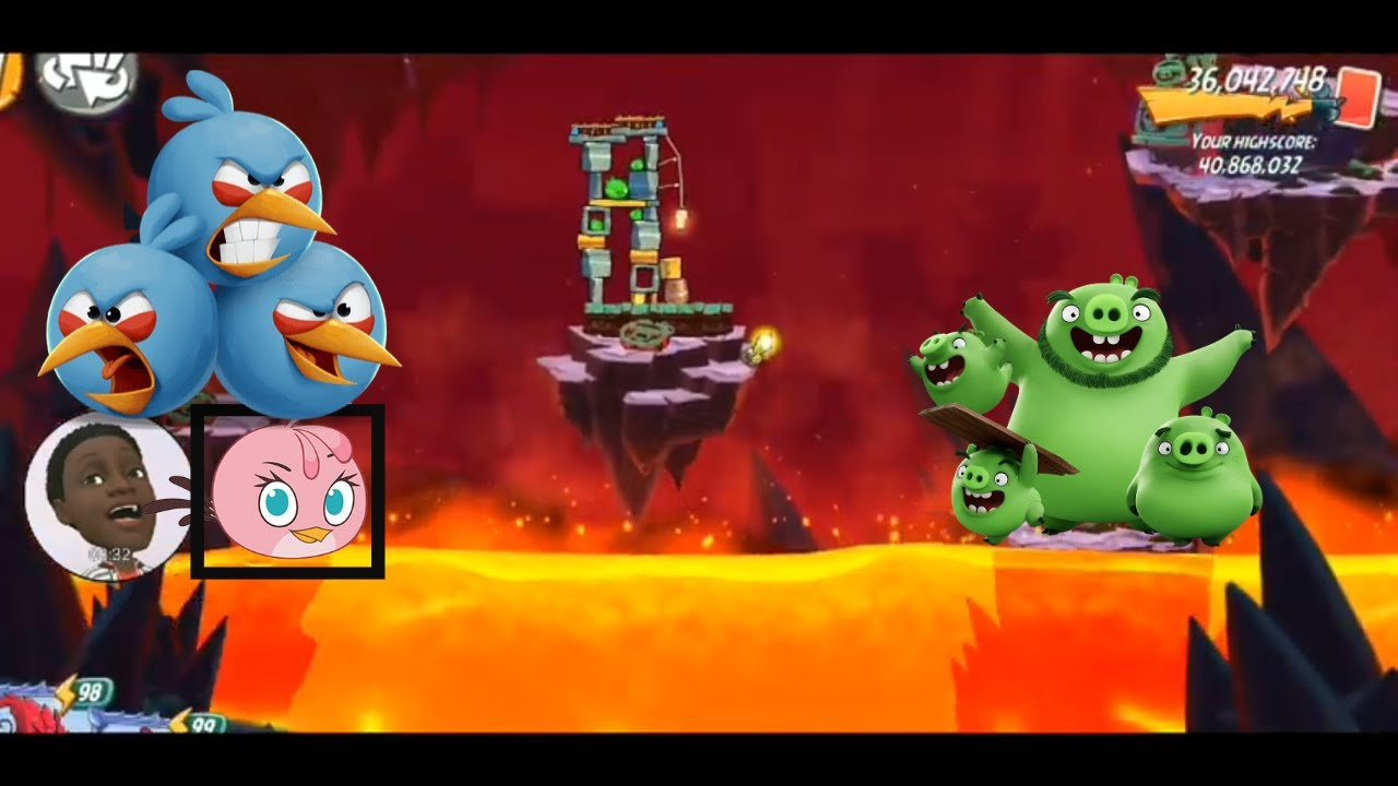 FULL Angry Birds 2 | Mighty Eagle Bootcamp (MEBC) Stan Leeroy 01/14/2019