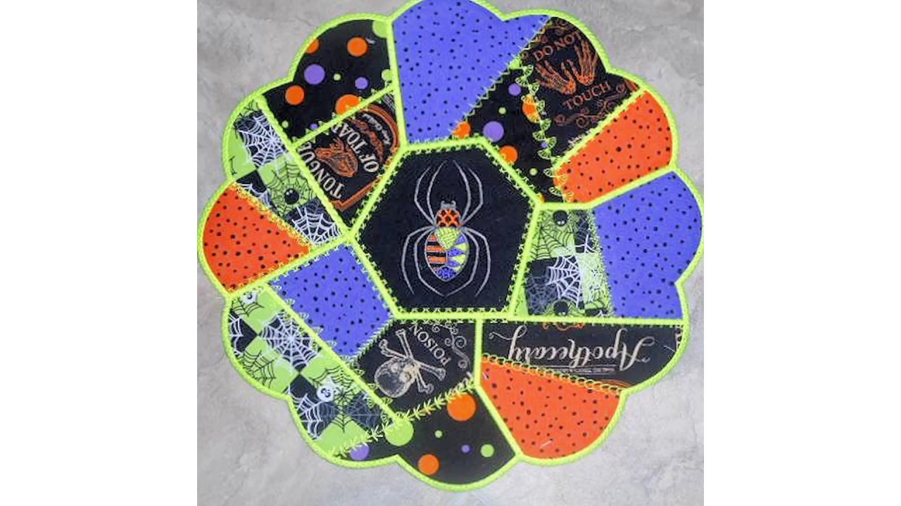 In The Hoop Place Mats And Coasters By Kreative Kiwi