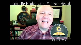 WYTV7 Transitions :  Can't Be Healed Until You are Heard