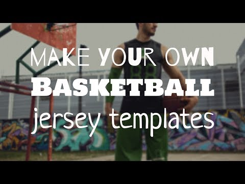 How To Make A Custom Basketball Jersey