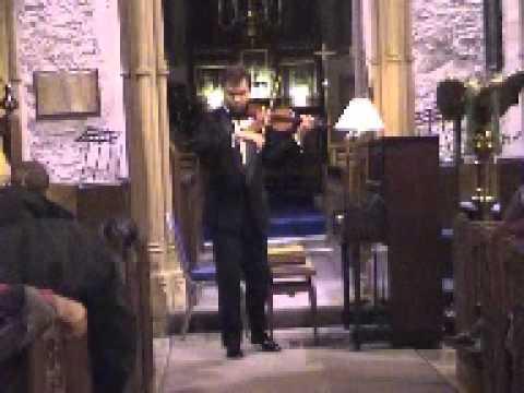 J-S  Bach Sonata C major BWV 1005 by Alexander Trostiansky