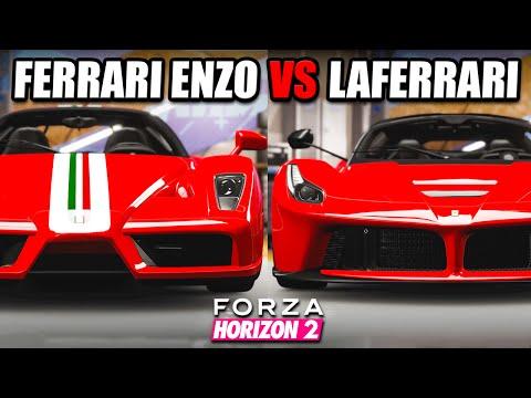 Old Vs New - Ferrari Enzo Vs LaFerrari - Forza Horizon 2