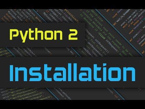 How to Install Python 2 on Windows 10