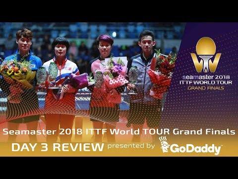 Day 3 Review by GoDaddy | 2018 ITTF World Tour Grand Finals