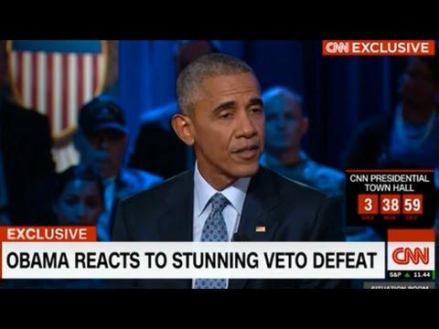 Obama Vetoed 9/11 Bill to Preserve U.S. Impunity