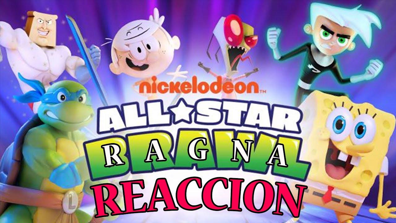 Ragnadan Reacciona: Nickelodeon AllStars Brawl (Esto... No Lo Vi Venir)