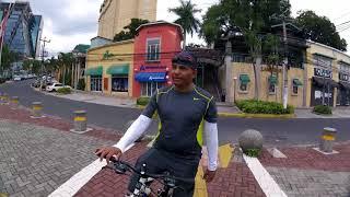 Tour por la ciuda en bicicleta con amigo suscriptor juan carlos rodriguez.