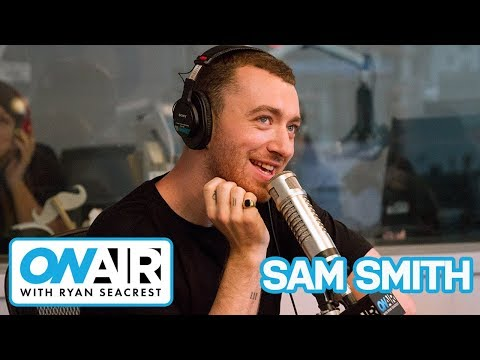 Sam Smith Fangirls Ariana Grande | On Air with Ryan Seacrest