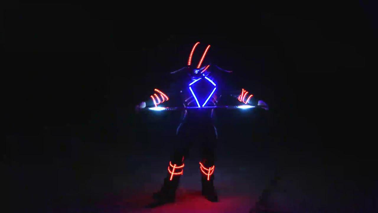 LED Staff Show
