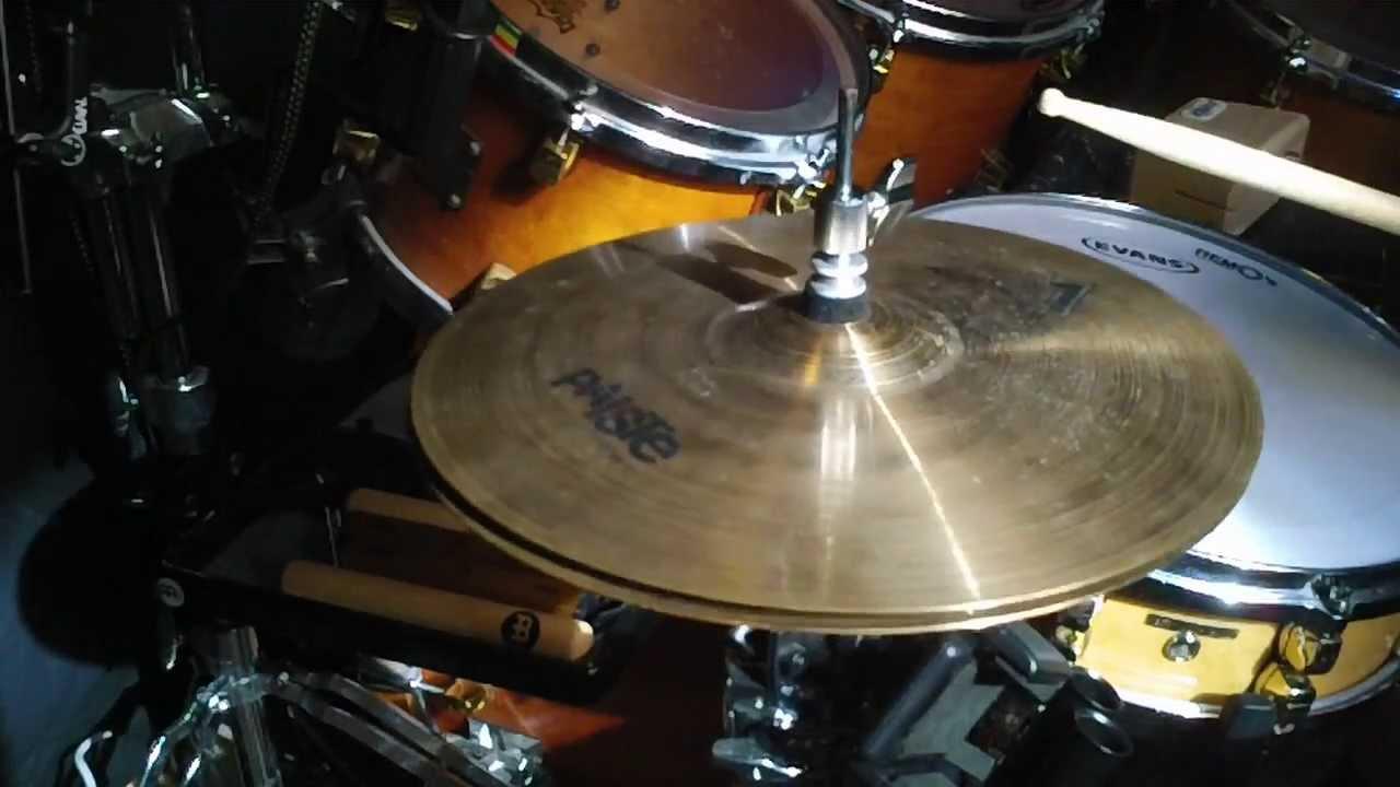 Hd Video 13 Paiste 802 Hi Hats Demo Test Sound Review Cymbals Hihat Hihats Hat