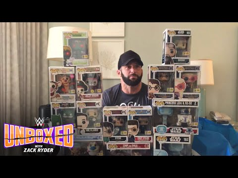 Zack scores insanely rare action figures at San Diego Comic-Con: WWE Unboxed with Zack Ryder