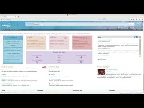 UniProt: Como buscar información sobre proteínas usadas en biotecnología